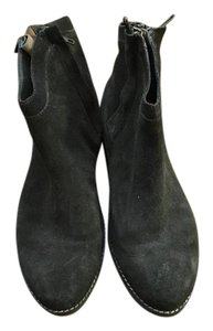 Dolce Vita Suede Brown/Dark Moss Green Boots