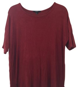 Forever 21 T Shirt Deep red