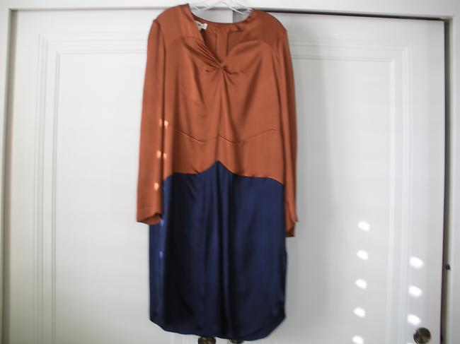 Preload https://item3.tradesy.com/images/marni-rust-and-navy-with-black-bow-knee-length-workoffice-dress-size-8-m-1586997-0-0.jpg?width=400&height=650