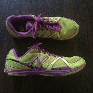 New Balance Yellow, Pink Athletic