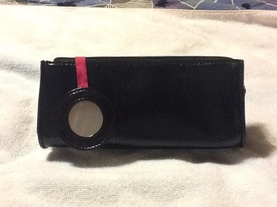 bareMinerals Smooth leather feel petite cosmetic bag