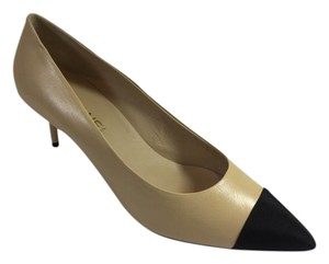 Chanel Two Tone Classic Beige Pumps