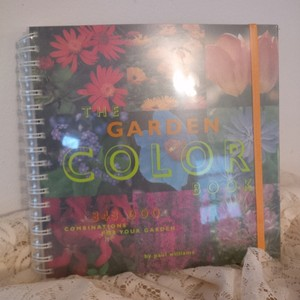 Multicolor Gifts ~ 4 Collage Garden Color Books Wedding Favors