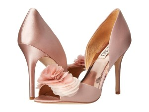 Badgley Mischka Badgley Mischka Pumps Wedding Satin Shoes Bridal Flower Wedding Shoes