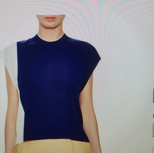 3.1 Phillip Lim Top Royal blue-white