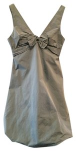 BCBGMAXAZRIA Bow Wedding Dress