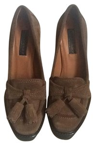 Burberry Prorsum Brown Platforms
