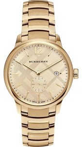 Burberry BU10006 Womans Burberry Gold Swiss Made Watch