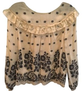 Leifsdottir Top Black-beige