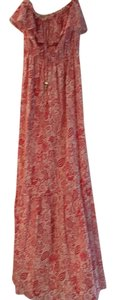 Red-beige Maxi Dress by Juicy Couture