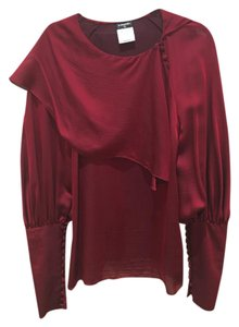 Chanel Top Burgandy