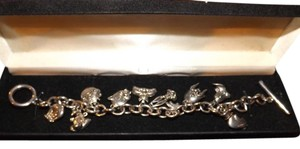 Warner Brothers Charm Bracelet Looney Toon Charms, 10 in all, Comes with Original Box