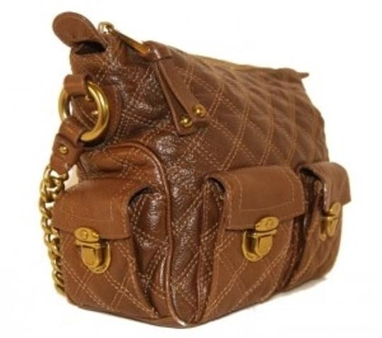 Marc Jacobs Leather Gold Hobo Bag