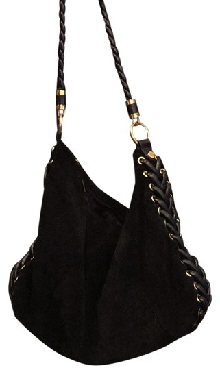 Preload https://item1.tradesy.com/images/tahari-braided-black-suede-and-leather-hobo-bag-15872275-0-1.jpg?width=440&height=440