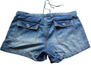 Paris Blues Sz3 Mini/Short Shorts Blue