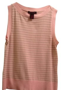 Gloria Vanderbilt Top Light pink/khaki