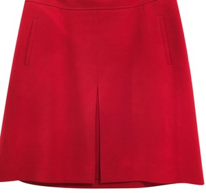 Ann Taylor LOFT Skirt Red