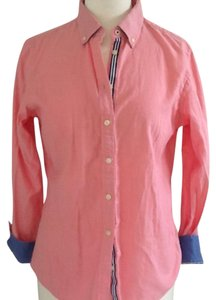 Banana Republic Button Down Shirt Oxford Pink