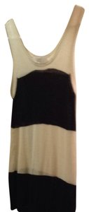 Ann Taylor LOFT Top Blk/cream
