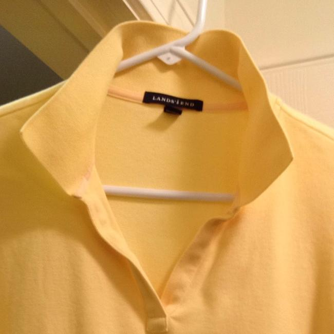 Lands' End T Shirt Yellow Image 1