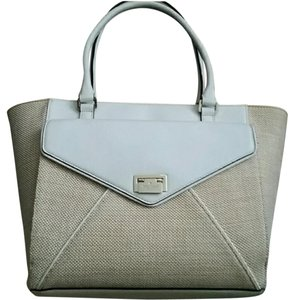 Kate Spade Tote in Tan and white