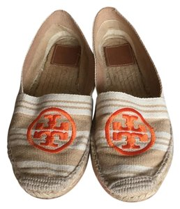 Tory Burch Latte Flats