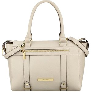 Anne Klein Satchel in Vanilla Bean