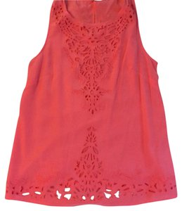 Cynthia Rowley Top Coral