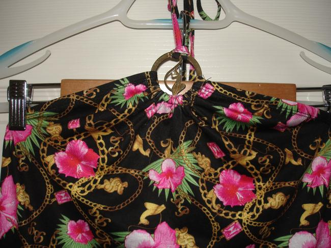 Baby Phat Multi colored Halter Top
