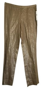 Lauren Ralph Lauren Straight Pants Gold