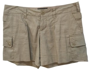 Mossimo Supply Co. Never Worn Linen-blend Versatile Cargo Shorts Tan