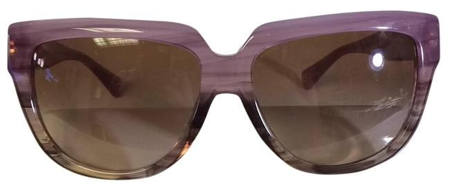 Item - Purple/ Brown Sunglasses