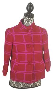 Trina Turk Red and Pink Jacket
