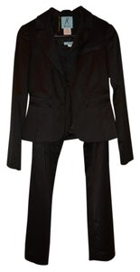 Marciano Marciano Satin Suit in Black size 4