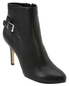 White House | Black Market Leather Ankle Black Boots