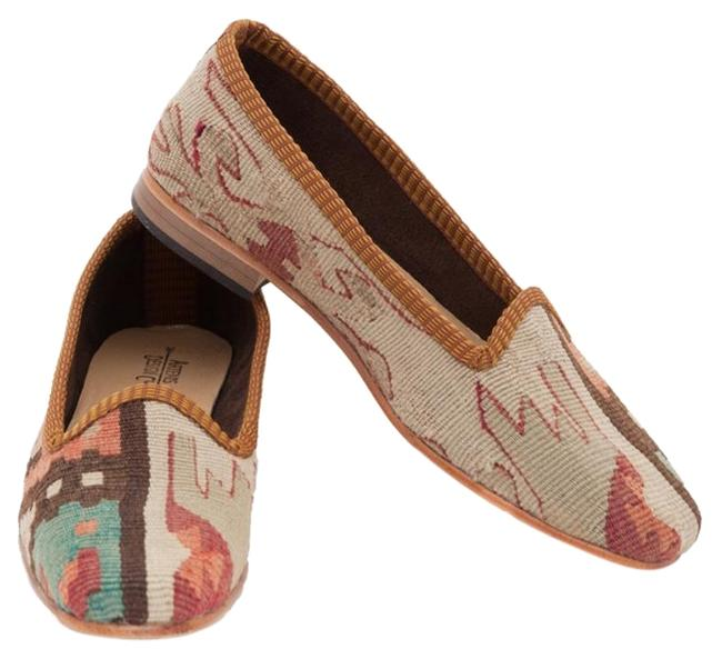 Item - Neutral Multi Classic Kilim Loafers Flats Size US 7 Regular (M, B)