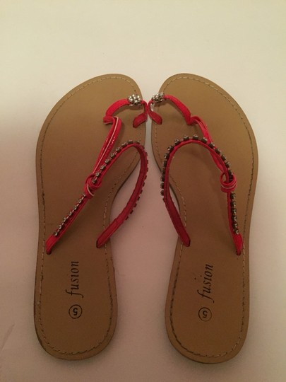 Fusion Red Sandals