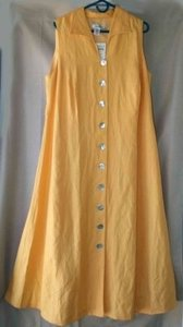yellow Maxi Dress by Coldwater Creek