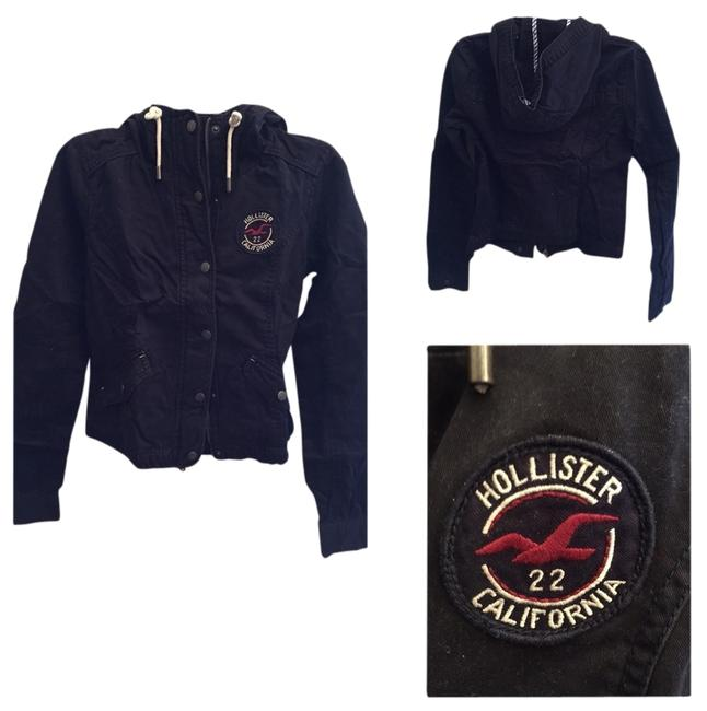 Hollister Navy Blue Jacket