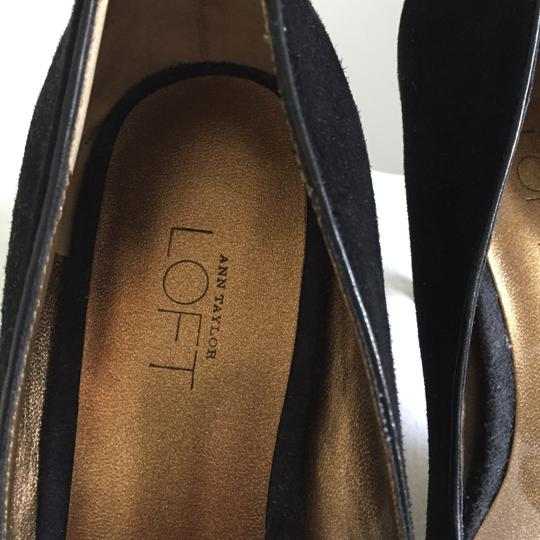 Ann Taylor LOFT Black Pumps Image 2