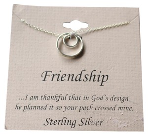 Other Lifetime Friendship Heart Necklace in Sterling Silver