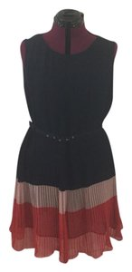 French Connection short dress Navy and Red on Tradesy