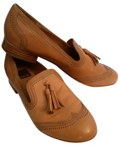 Dolce Vita Tan Leather Flats