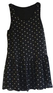 Forever 21 short dress Black & White Polka Dot Drop Waist Girly Chiffon on Tradesy