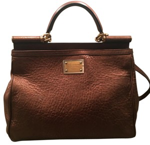 Dolce&Gabbana Satchel in Bronze/Brown