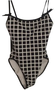 Kate Spade Kate Spade Windowpane One Piece Swim