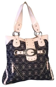Guess Tote in Blue and White