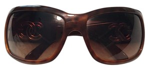Chanel Chanel Tortoise Shell CC Sunglasses