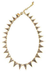 J.Crew Faceted geometric statement necklace