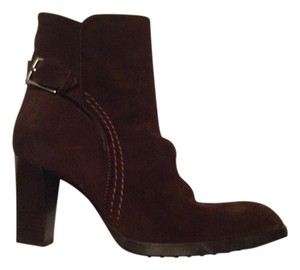 Tod's Dark Brown Boots